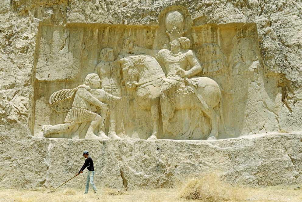 Königsgrab im Iran