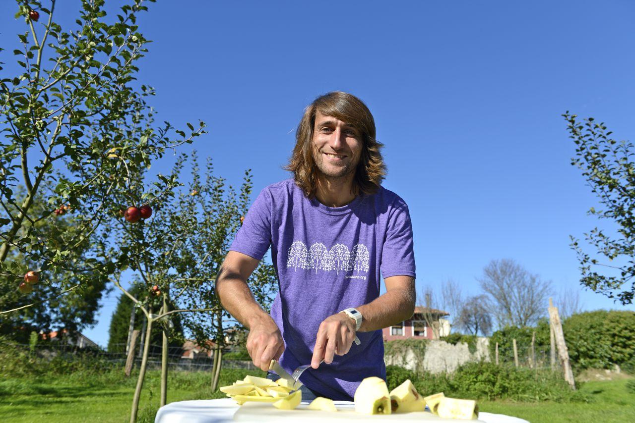 Apfelverkostung in Asturien