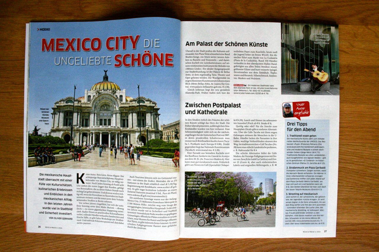 Reise & Preise Mexiko