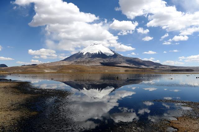 Vulkan Parinacota.