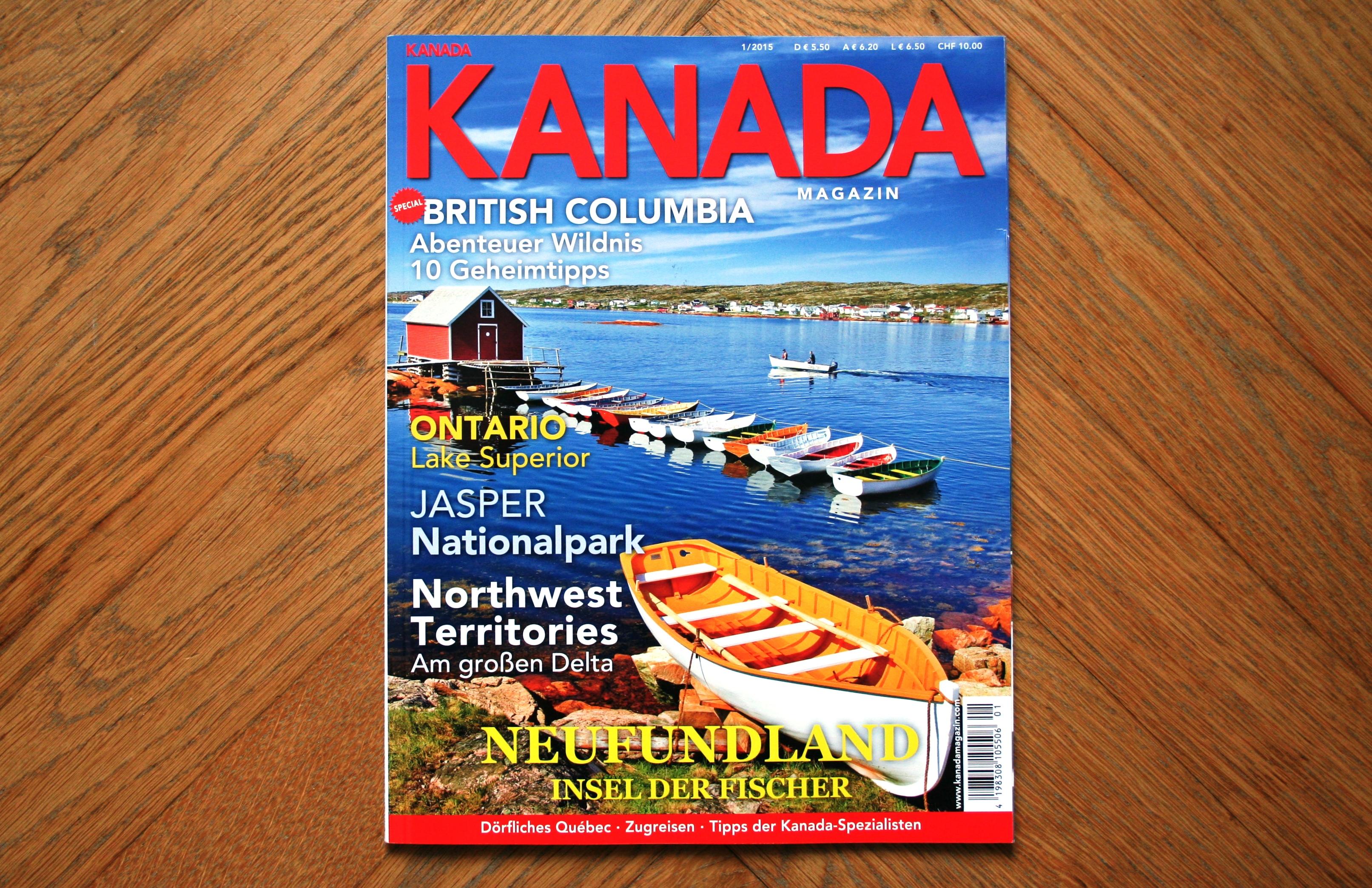 KANADA Magazin 15-1