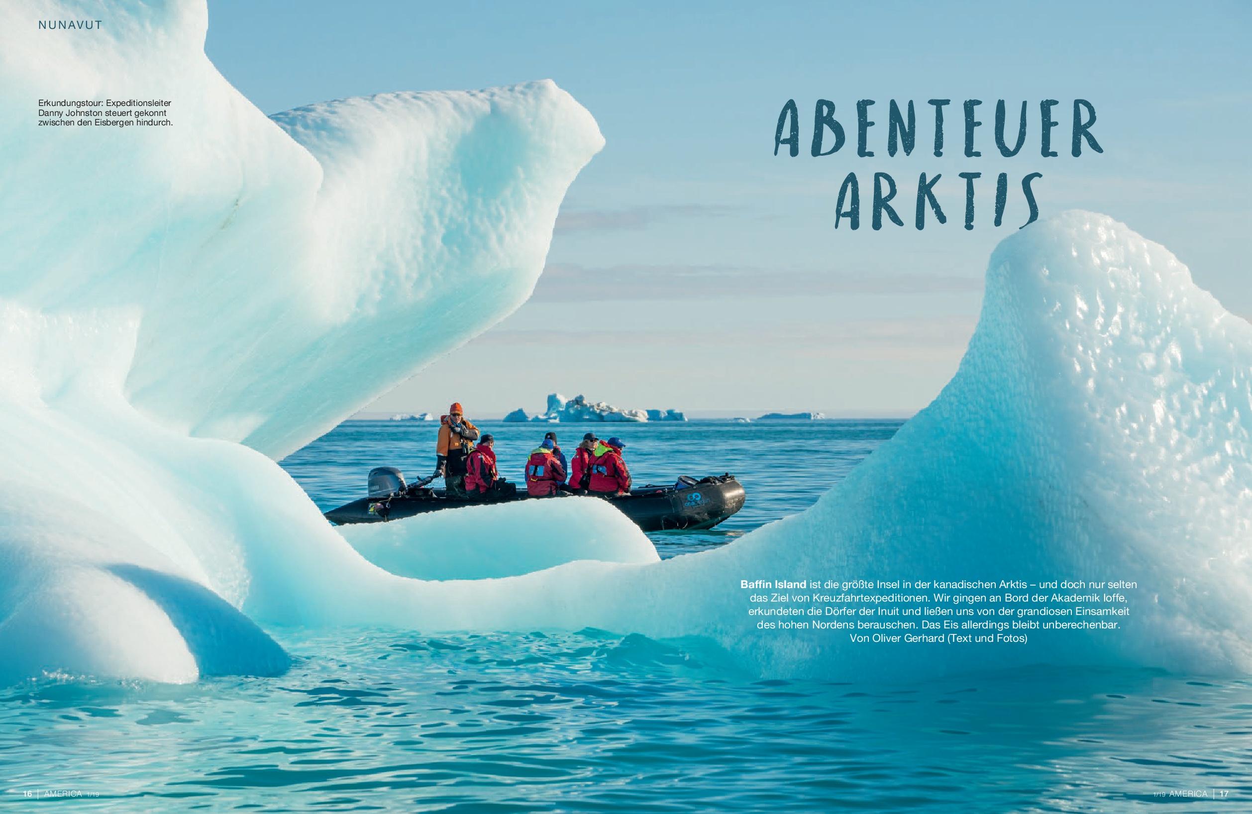 AMERICA Journal: Kreuzfahrt in der Arktis