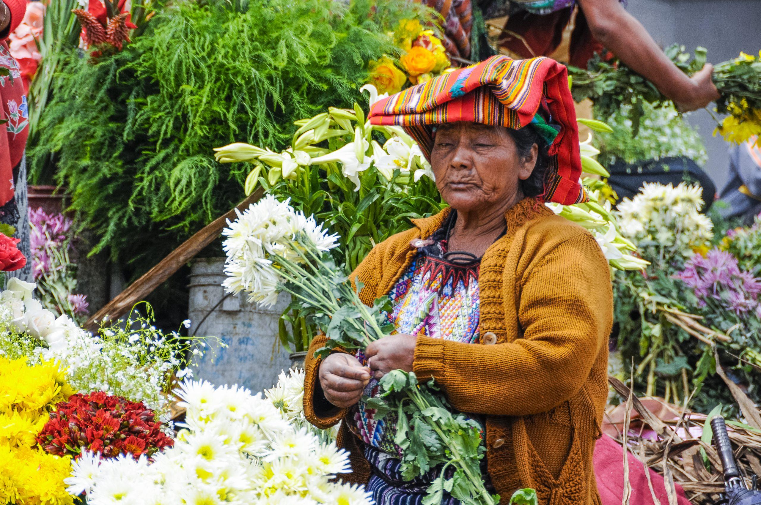 Wohnen bei Maya-Familien
