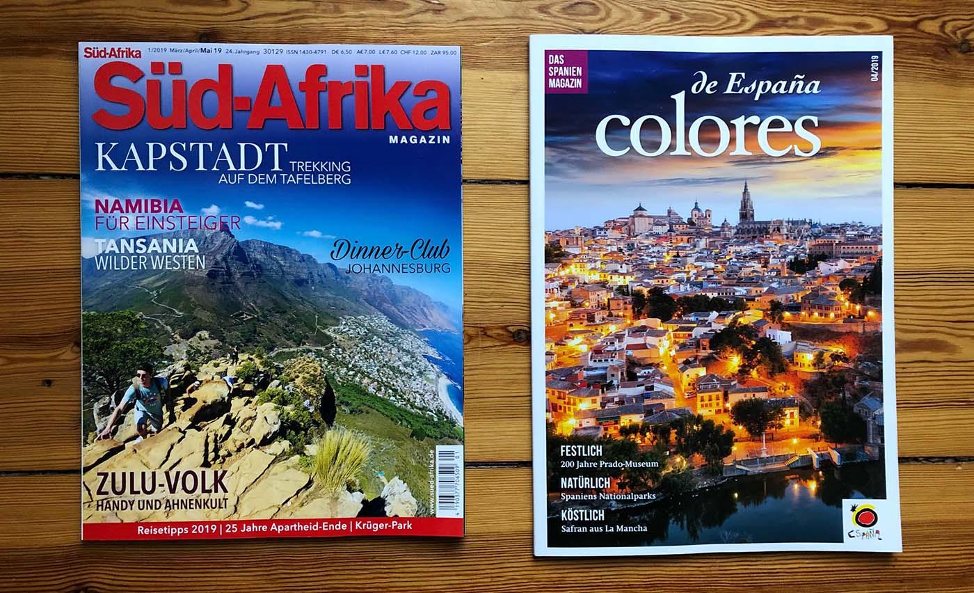 Redaktionsarbeit: Neue Magazine