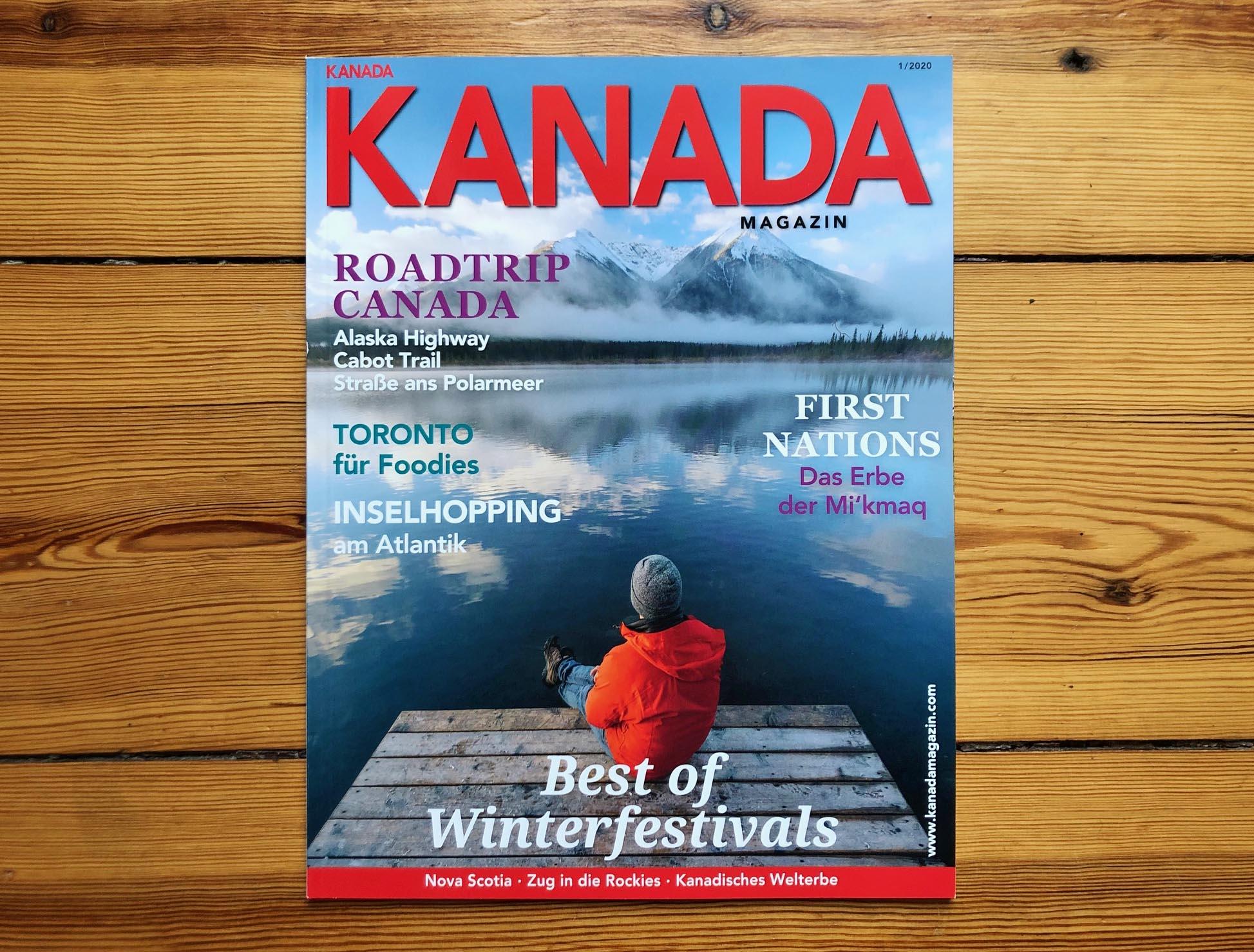 Neues KANADA Magazin