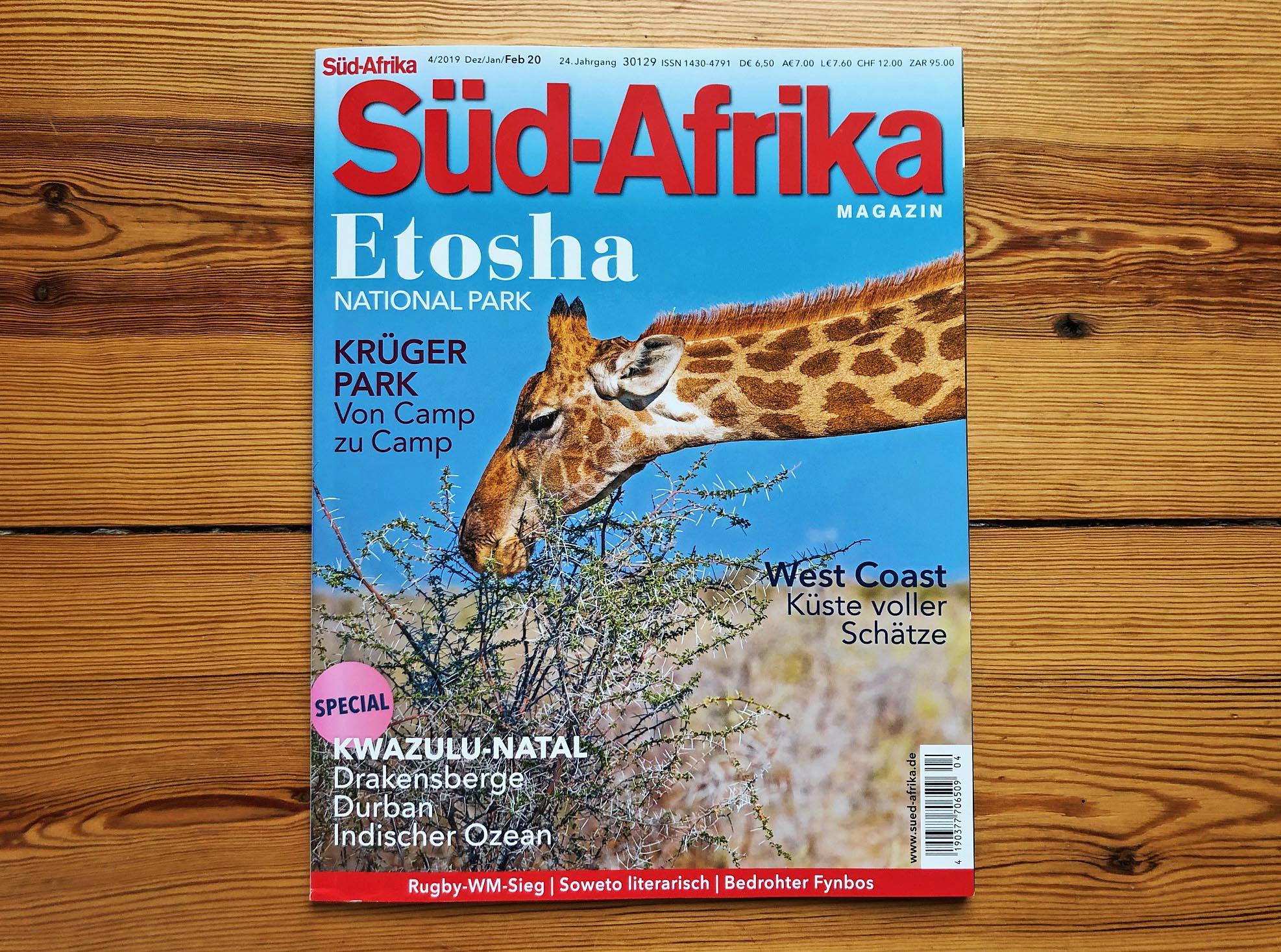 Coverfoto aus dem Etosha-Park