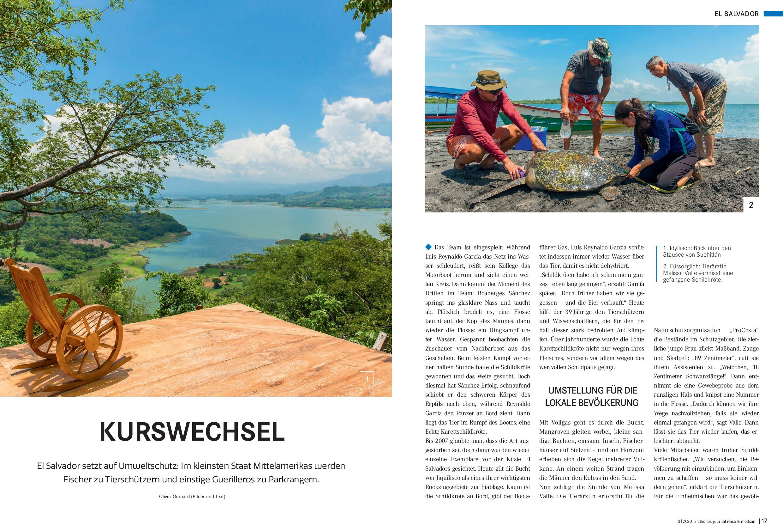 El Salvador in Text und Bild