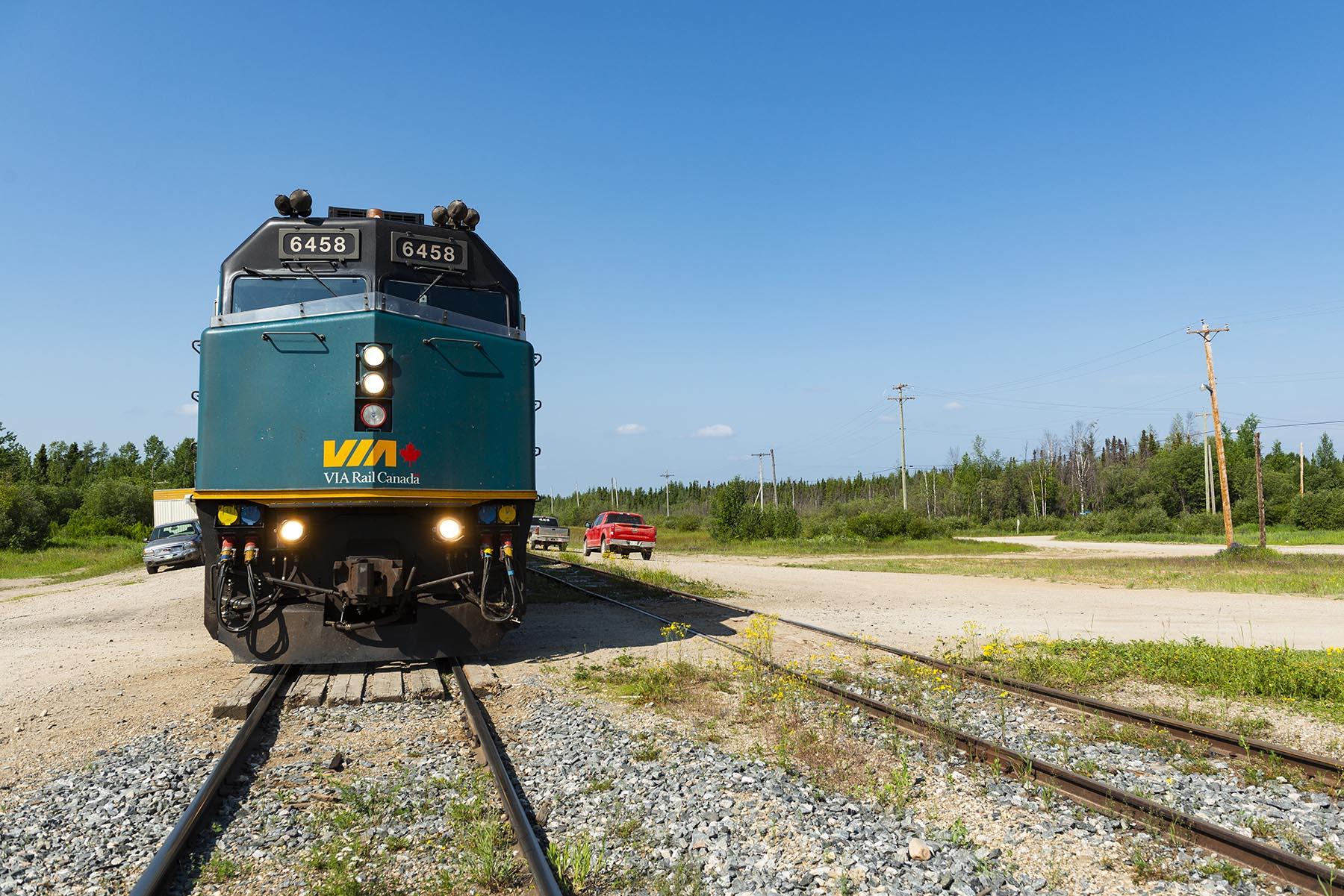 WELT-Kolumne: Zwei Tage in einem kanadischen Zug