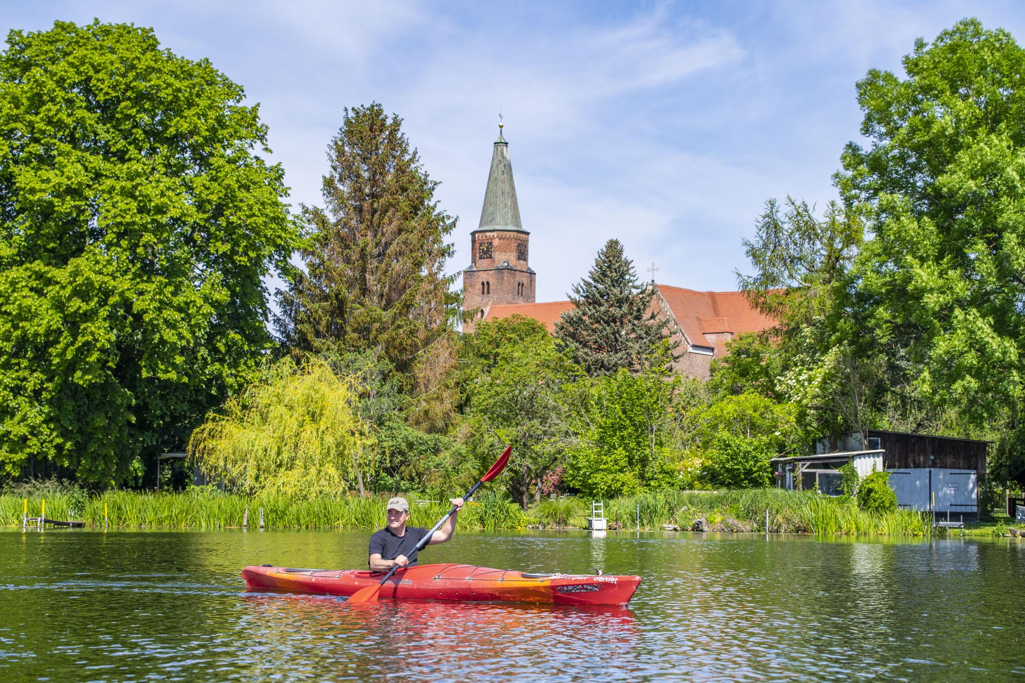 Funke-Medien: Stadtpaddeln in Brandenburg/Havel