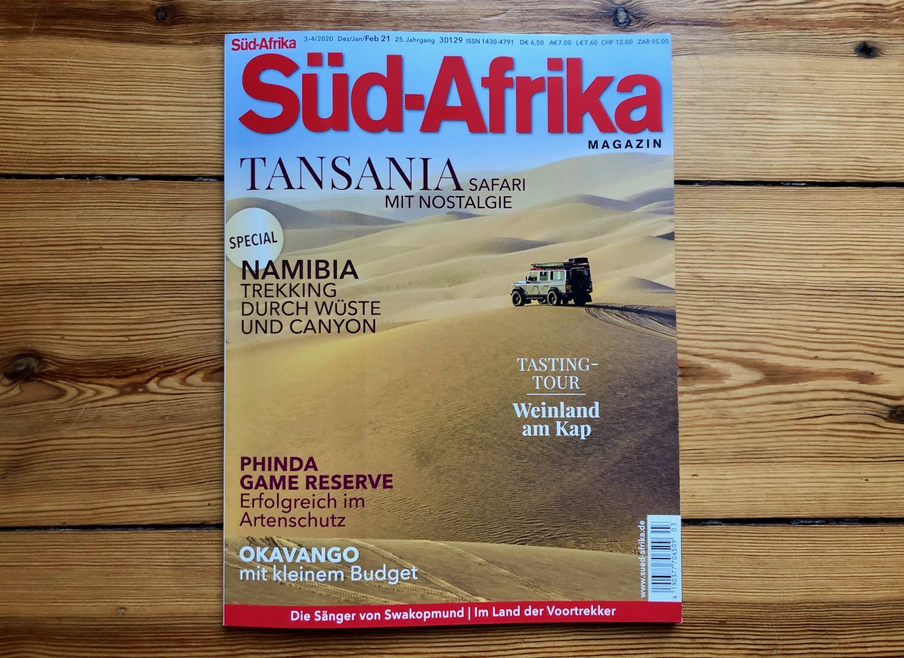 Neues SÜD-AFRIKA Magazin am Kiosk