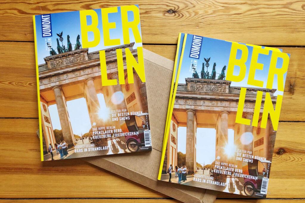 Cover des neuen Dumont Bildatlas Berlin