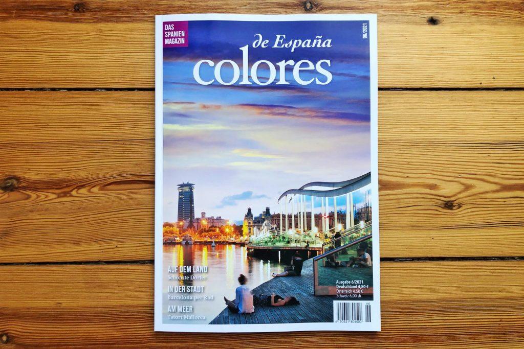Cover des Magazins Colores de España